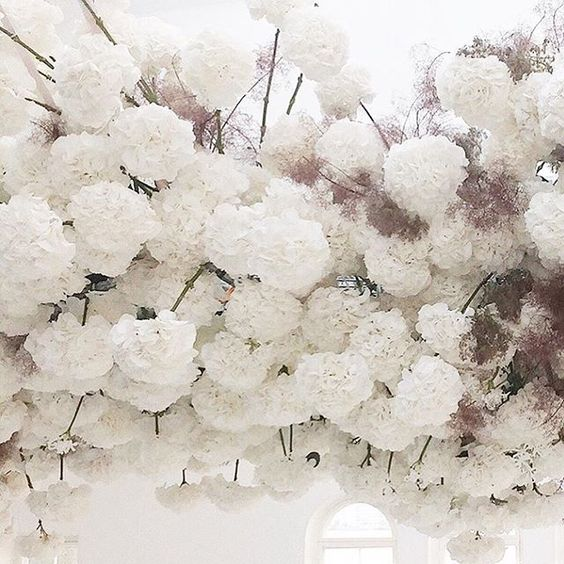 Lost in #floral inspiration today dreaming up creative briefs for some beautiful events we're working on soon.. ☁️☁️