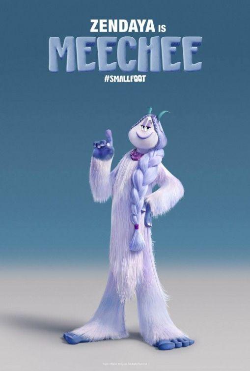 Smallfoot Movie Poster Animated Movies Movie Posters Cartoon Movies