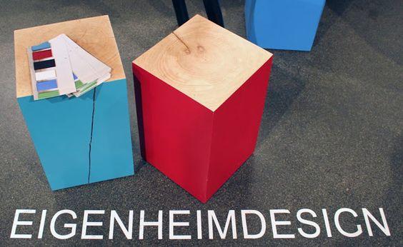 by AnneLiWest|Berlin  #Eigenheimdesign, Hocker 'Elmar'