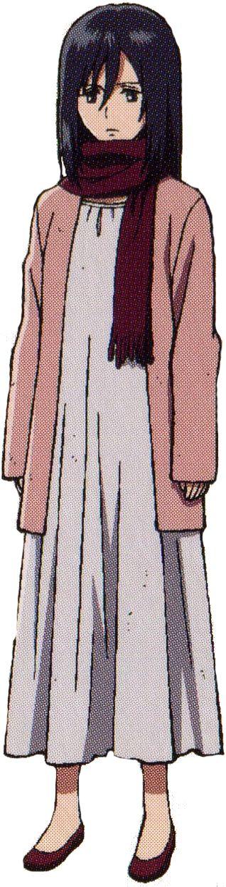 Mikasa Ackerman Child mikasa ackerman young ...