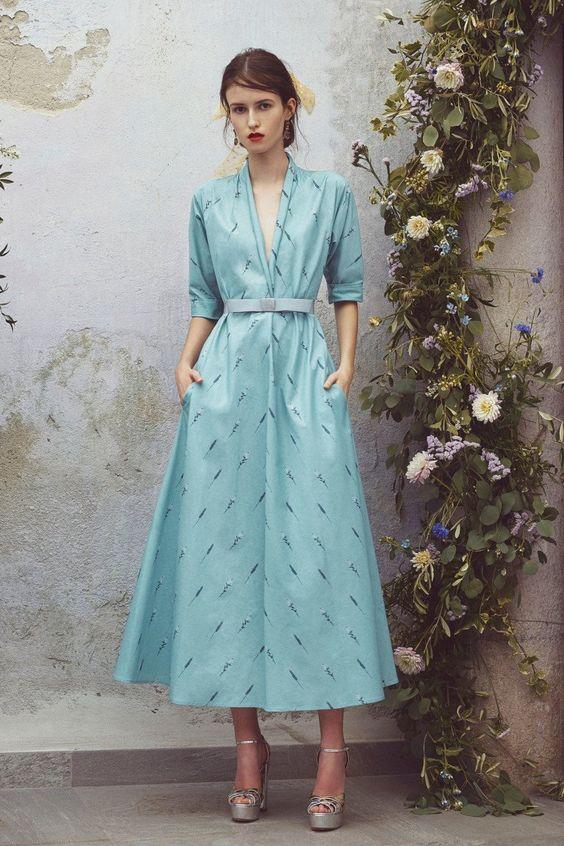 Luisa Beccaria коллекция   Коллекции весна-лето 2018   Нью-Йорк   VOGUE