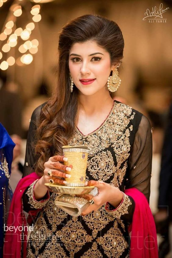Latest Pakistani Fashion Wedding Guest Dresses 2018