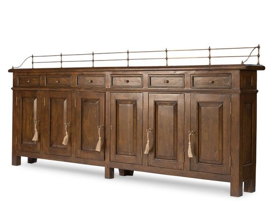 Sideboard Buffet Cabinet hallway Narrow Solid Walnut Handmade New ...