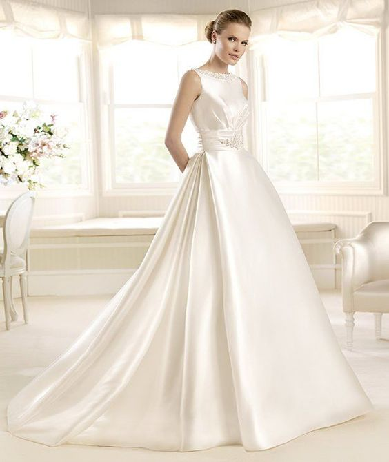 MELAZA » Wedding Dresses » 2013 Costura Collection » La Sposa