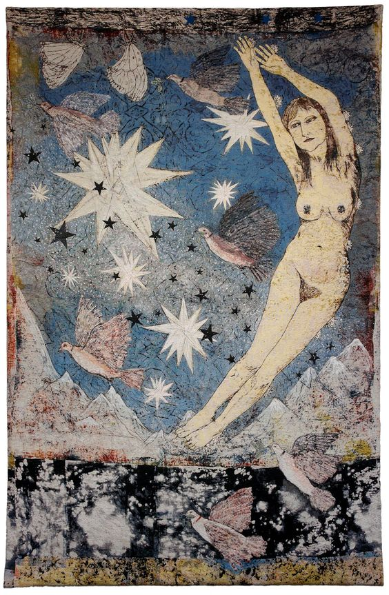Kiki Smith , Tapestry  https://www.artexperiencenyc.com/social_login/?utm_source=pinterest_medium=pins_content=pinterest_pins_campaign=pinterest_initial
