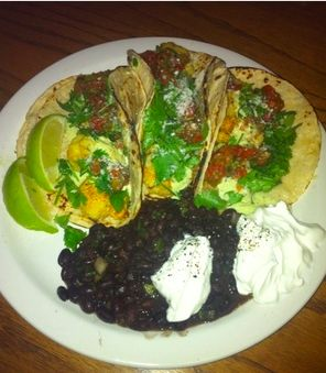 Shrimp Tacos with Black Beans (2011) #monthofdinners http://www.realsimple.com/food-recipes/browse-all-recipes/shrimp-tacos-black-beans-00100000066518