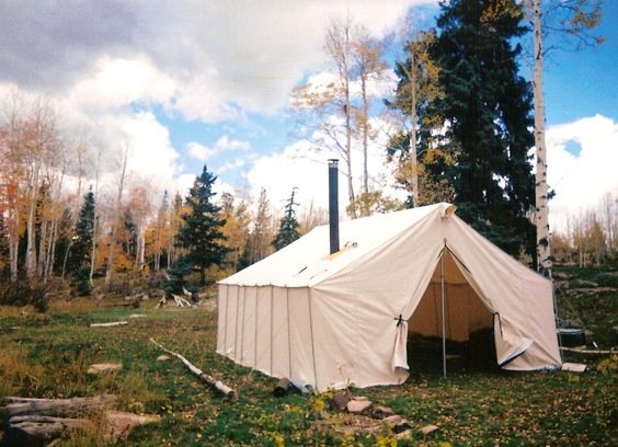 Tents wall tents wall tent canvas tent hunting tents for Wall tent floor