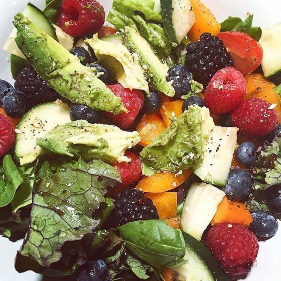 You think my salads are boring, you're boring    Fueling my body with good food makes me feel good in the inside and out. Sure, I indulge on some food that isn't as healthy, but that's in moderation   So the next time you are in a hurry and putting fast food in your mouth, think about how you feel. Do you feel gross, bloated and unhappy? Cause that's what I always used to do until I learned that eating clean was what was best for me!!  Treat your body right and eat good damn food!