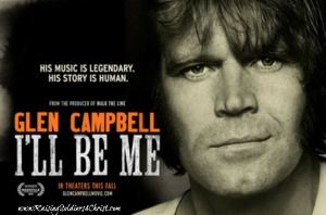 Glen Campbell: I'll Be Me {Movie Review and 5 SONG EP giveaway!!!} - Raising Soldiers 4 Christ #GlenCampbell #countrymusic #Illbeme #Alzheimers