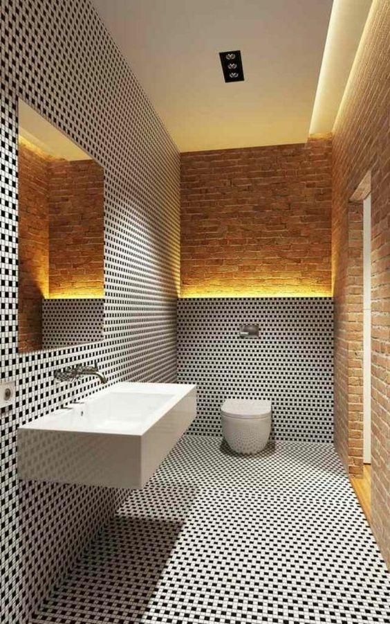 badgestaltung ideen badgestaltung in schwarz und weis und - badezimmer weis