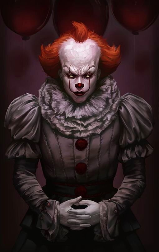 Pennywise Clown Horror Horror Characters Scary Clowns