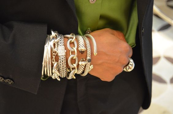 What a stack! David Yurman