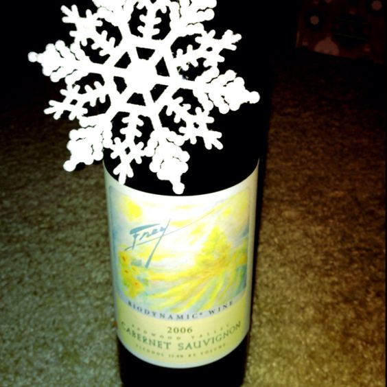 Great gifts! Frey wine :)