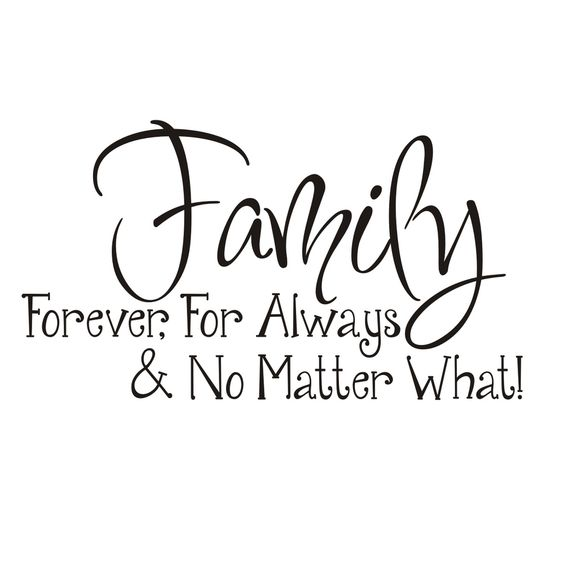 Vinyl Attraction 'Family; Forever, For Always & No Matter
