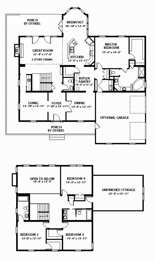 Nice modular home plan instead of two story great room i Nice floor plans