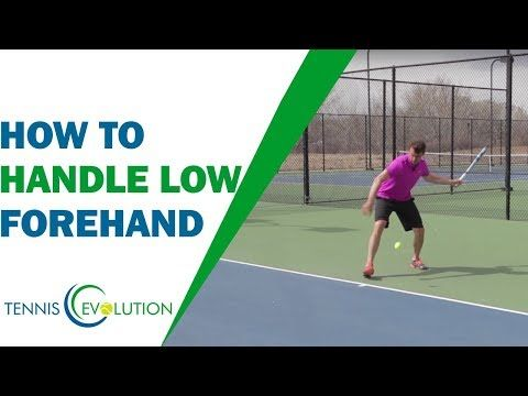 How To Handle Low Forehand Real Truth Tennis Forehand Youtube In 2020 Tennis Forehand Tennis Lessons Tennis Techniques