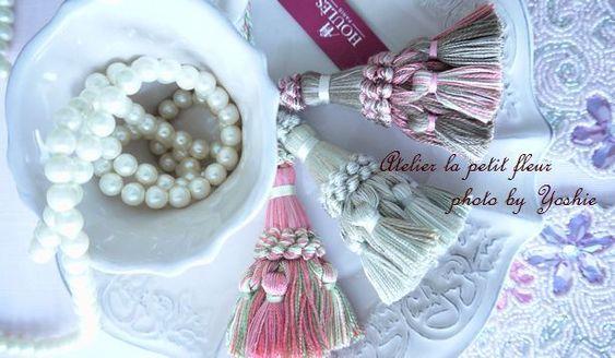 フランス製『タッセル』をアクセサリー感覚で♪ の画像|Atelier La petit fleurから、素敵な花時間を。