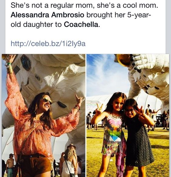 Alessandra Ambrosio is a cool mom!