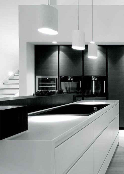 Decoration De Cuisine Noir Et Blanc Designs De Petite Cuisine