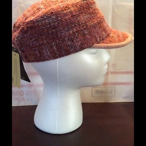 Pink multicolor women's winter hat This is a Pink multicolor women's winter hat Accessories Hats