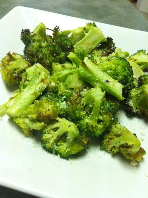 This is really good, I would probably use a little more Olive oil and salt than I did, but it was really good! How to Cook Flavorful Roasted Broccoli!