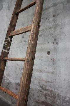 ≥ Oude fruitplukkers ladder mooi als handdoekrek etc  - Woonaccessoires   Overige - Marktplaats.nl