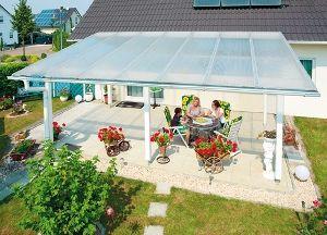 Gardenplaza - Überdachungen aus Kunststoff schützen vor der Witterung