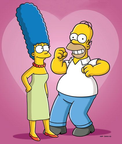 Homer and Marge #TheSimpsons