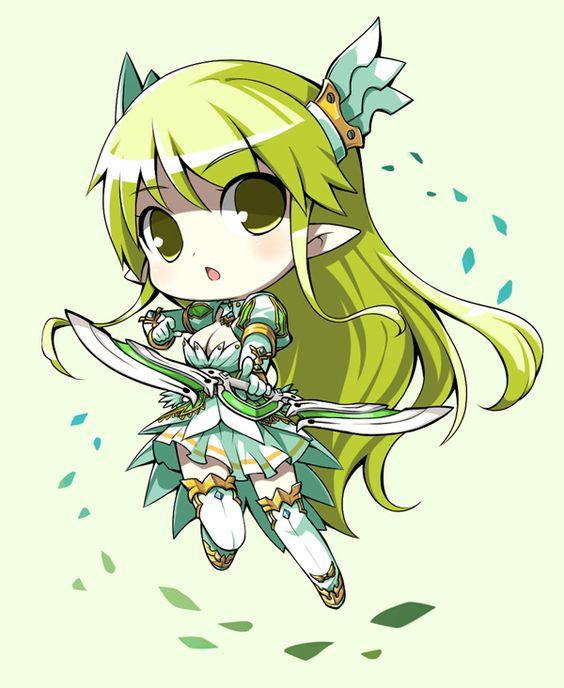 Chibi Grand Archer - elsword Fan Art