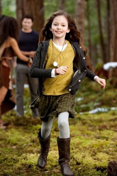 Photo of Renesmee for fans of Breaking Dawn Part 2.