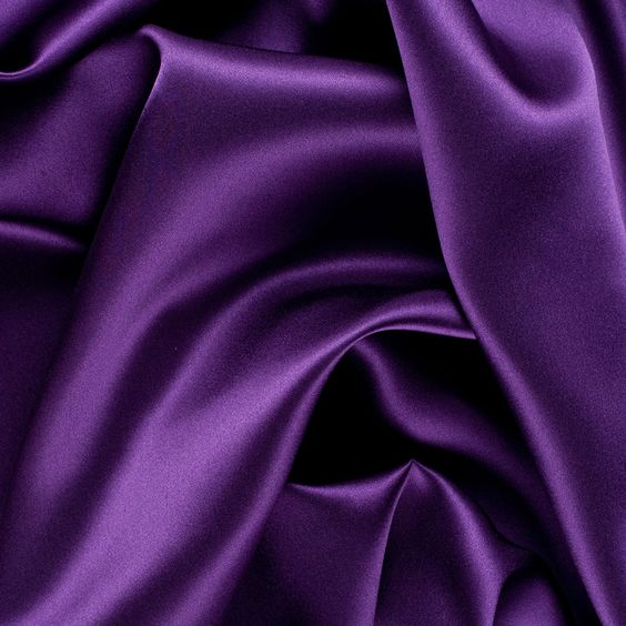 majesty purple stretch silk charmeuse fabric by the yard