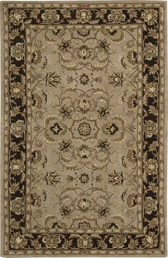 Nourison India House Collection Ih71 2'6 X 4' Area Rug, Beige & Tan