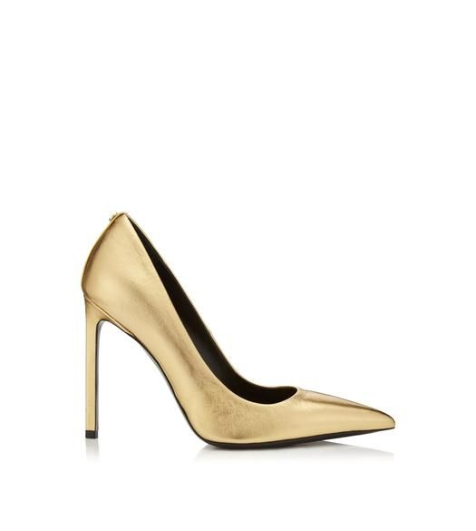 Shoes - Women   TomFord.com   Gold