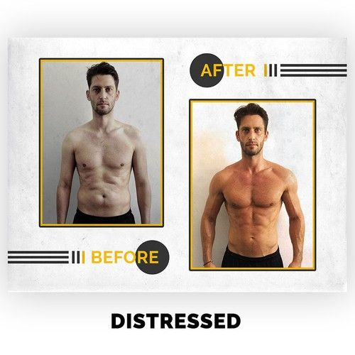 Design Cool Before And After Templates For Personal Trainers Illustration Or Graphics Contest Ad Design Il In 2021 Instagram Design Template Design Advertising Design