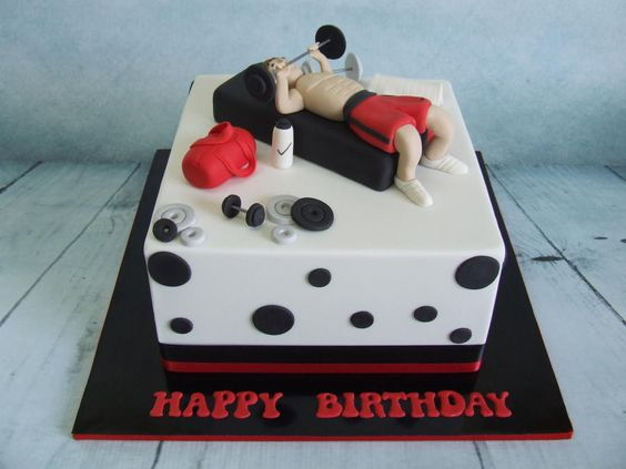Birthday Cakes For People In Training For Weightlifting
