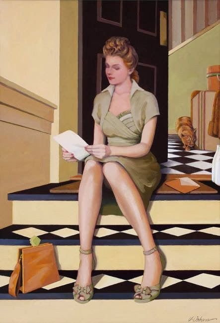 Jacqueline Osborn ~ Stories on canvas:
