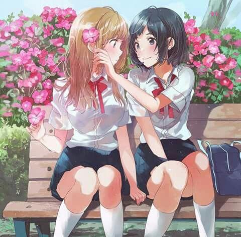 Asian Girl School Uniform