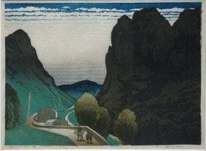 Spanish Hill Road - Ian Cheyne 1930