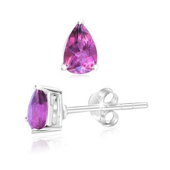 '1.1 Carat Pink Mystic Topaz Pear Shaped Studs ' is going up for auction at  9am Tue, Sep 25 with a starting bid of $6.