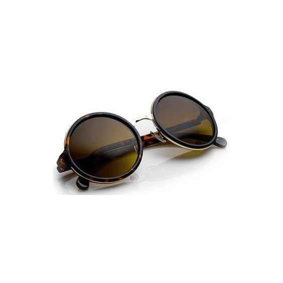 Si vous souhaitez vous donner un style très 60's ou 70's, il faut absolument que vous assortissiez vos tenues à ces lunettes rondes, vous serez au meilleur de la tendance de cette année !  Largeur 140 mm Hauteur 54 mm