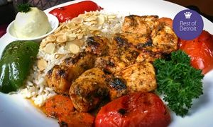 Groupon - Mediterranean Cuisine for Lunch or Dinner at La Marsa (Up to 47% Off). Two Options Available. in On Location. Groupon deal price: $11