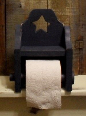 Country Primitive Kitchen Bathroom Decor Paper Towel Holders Napkin Holders Toilet Paper