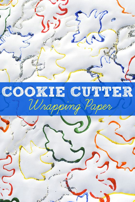 Cookie Cutter Wrapping Paper