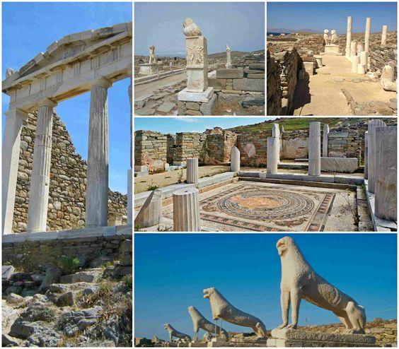 Само на 45 минути с корабче от Миконос се намира една от най - известните  забележителности на Гърция – древният свещен остров Делос - религиозна столица  на  йонийците, родното място на Аполон и Артемида. Целият остров е като музей на открито, изпълнен с безброй забележителности.