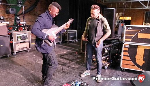 Rig Rundown Animals As Leaders 2017 Cool Guitar Guitar Design Tosin Abasi