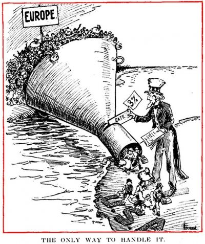 UNDESIRABLE IMMIGRANTS BARRED FROM ENTERING USA,1920S IMMIGRATION LAWS,IMMIGRATION RESTRICTIONS 1921,IMMIGRATION RESTRICTIONS 1922,IMMIGRATION RESTRICTIONS 1920,REDUCED IMMIGRATION LEVELS SOUGHT IN 1920S - Article Preview - Old Magazine Articles