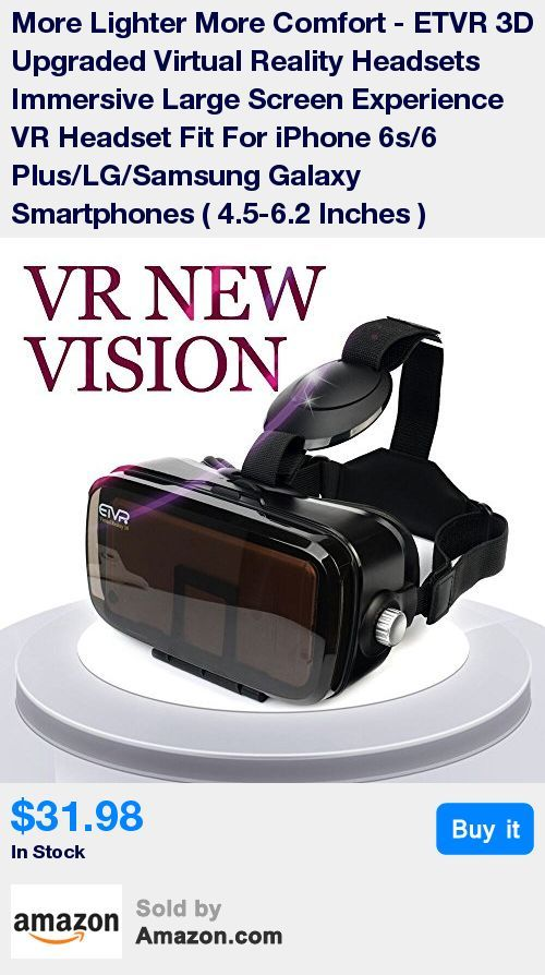 4f50f01bed1 UPGRADED Lightweight VR headset with Immersive 120-Degree Bigger Virtual  Reality Viewing Angle Fit