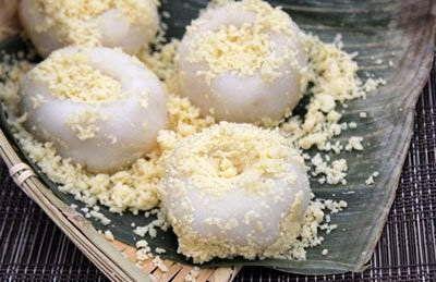 Salty Glutinous Rice Cake - Banh day nhan man