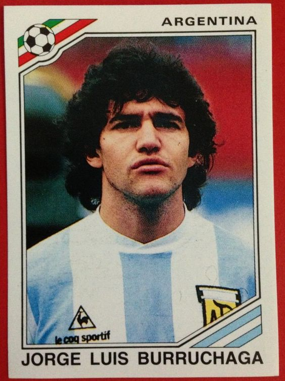 Jorge Luis Burruchaga another arsenal of Maradona's World Cup winning Team. He scored the last goal against Germany in the Final.