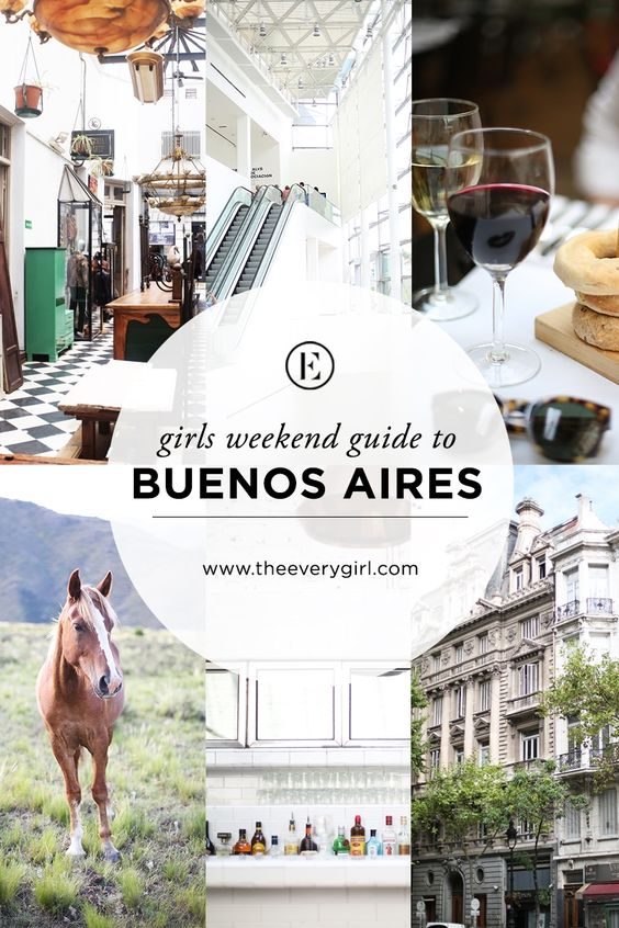 The Everygirl's Weekend City Guide to Buenos Aires, Argentina #theeverygirl